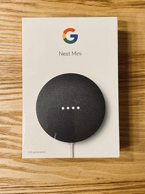 Google Nest Home Mini (2nd Gen) Charcoal for Sale in Sunnyvale, CA