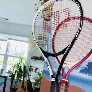 Set Of Two Professional Wilson Tennis Rackets for Sale in Fuquay-Varina, NC