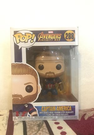 FUNKO POP: Marvel Avengers Infinity War (Captain America) for Sale in Queens, NY