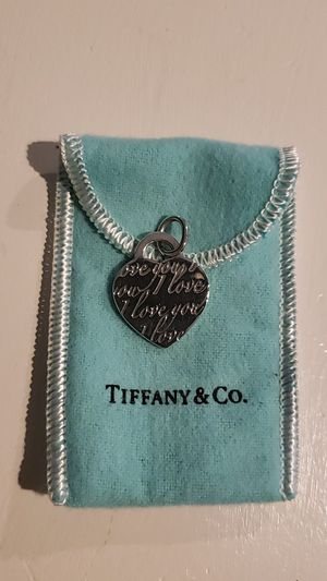 Authentic Tiffany Charm. Valentine's Day around the corner! for Sale in Ontario, CA