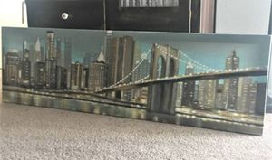 'Abstact Manhattan' Giclee Print Canvas Wall Art for Sale in Silver Spring, MD