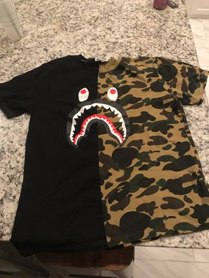 Bape T-shirt size xxl (fits small) for Sale in Keller, TX