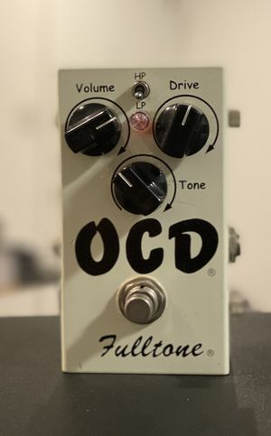 Fulltone OCD 1 Version 4 obsessive compulsive drive pedal for Sale in Los Angeles, CA