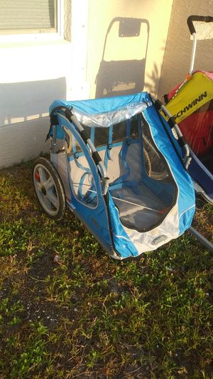 Instep sync blue bike trailer for Sale in Cape Coral, FL