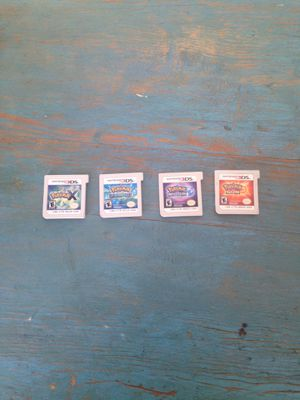 Nintendo 3DS Pokémon games for Sale in Chicago, IL