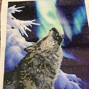 5D Diamond Painting Northern Howl for Sale in Jamison, PA