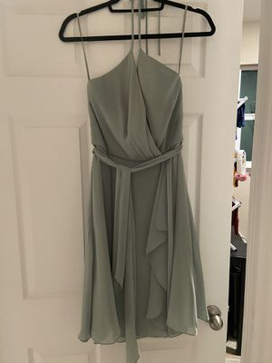 Sage green cocktail dress for Sale in Austin, TX
