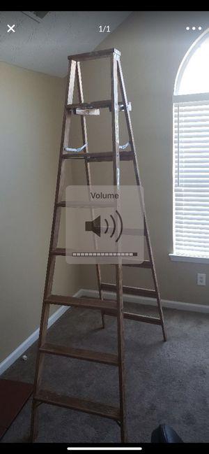 Wooden ladder 8 ft for Sale in College Park, GA