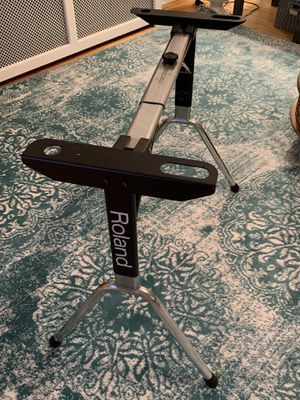 Roland keyboard stand, 1980's steel construction! for Sale in Washington, DC