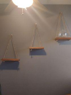 Three Handmade Hanging Shelves for Sale in Tempe,  AZ