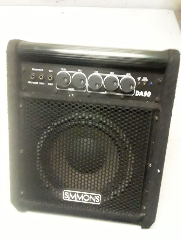 Simmons drum amp