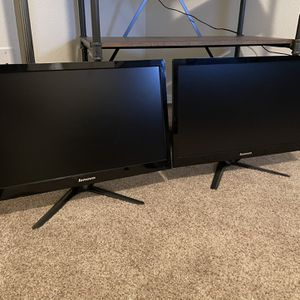 Two Lenovo 20in 1080p LCD Monitors for Sale in Vancouver, WA