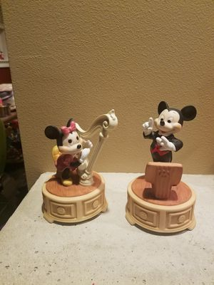 Disney Mickey and Minnie music boxes for Sale in Fairview, OR