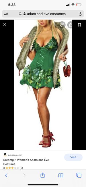 Eve halloween woman's costume for Sale in Saint Benedict, OR