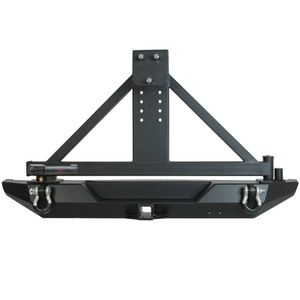 Jeep Wrangler TJ Heavy Duty Rear Bumper / Carrier w. Sure Grip Handle for Sale in Montclair, CA