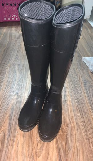 BLACK HUNTER RAIN BOOTS for Sale in Panama City, FL