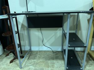 Desk Table + Night Stand for Sale in Seffner, FL