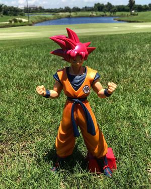 Super Saiyan GOD Red Goku 🐉 - Dragon Ball Z | DBZ DBS Super Figure Figurine Model Statue Collectible for Sale in Miami Beach, FL