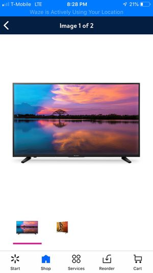 """Sharp - 50"""" Class - LED - 2160p - Smart - 4K UHD TV with HDR Roku TV for Sale in Torrance, CA"""