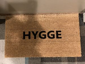 Hygge door mat for Sale in Houston, TX