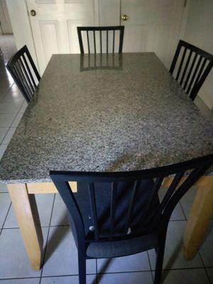 Granite Kitchen Table for Sale in Wall Township, NJ