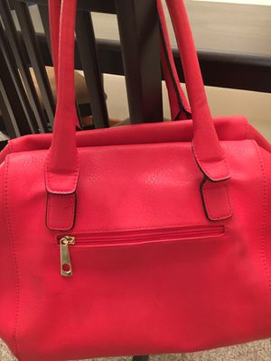 Large Red Leather Look Purse for Sale in Tennerton, WV