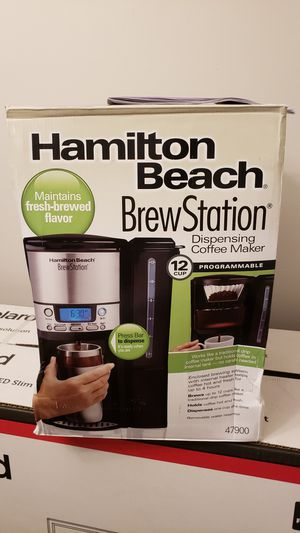 Hamilton Beach 12-Cup Coffee Maker, Programmable BrewStation Dispensing Coffee Machine for Sale in Freehold, NJ