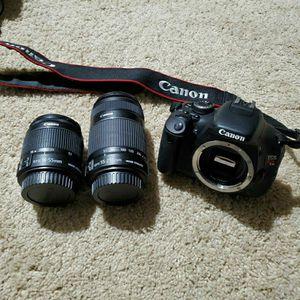 Canon Rebel T3i / EOS 600D for Sale in Covington, WA