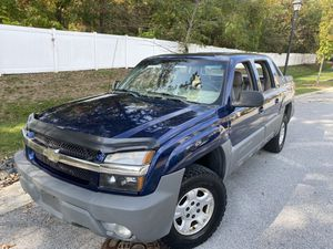 2002 Chevy avalanche Z71 4X4 for Sale in Odenton, MD