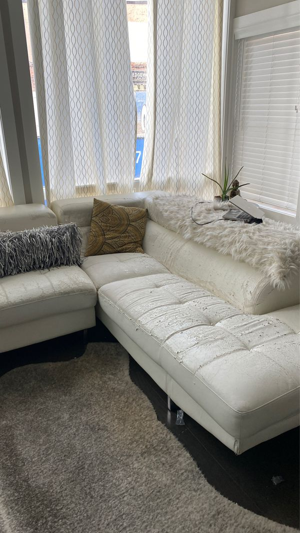Worn Sectional for Free