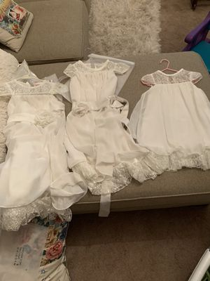 3 Flower Girl dresses for Sale in Plant City, FL