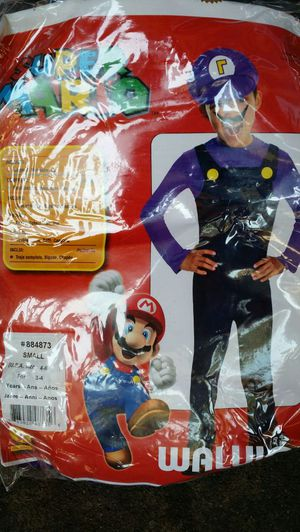 Super mario Waluigi Halloween costume for Sale in Oakland, CA