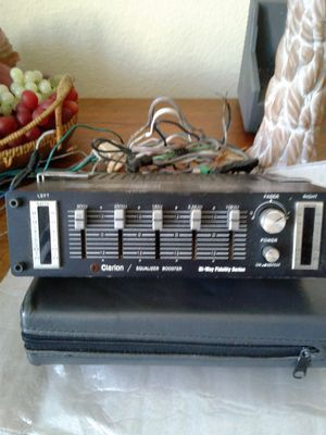 New Vintage Clarion Equalizer for Sale in Chula Vista, CA
