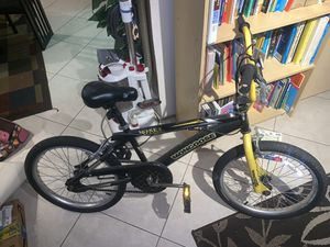 "20 inch boys ""Black magic""mongoose BMX bike for Sale in Oakland Park, FL"