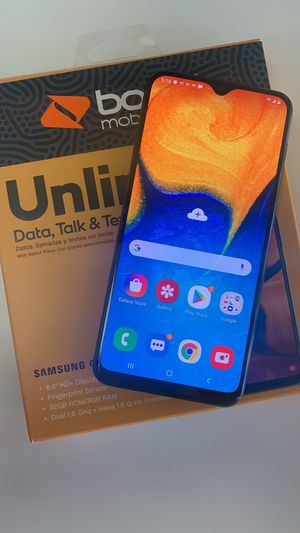 Galaxy A20 free when you switch to Boost Mobile for Sale in Lubbock, TX