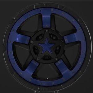 XD827 Rockstar Insert Midspokes And Stars For 5 Tires for Sale in Apollo Beach, FL
