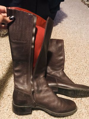 Brown rain boots for Sale in Fresno, CA