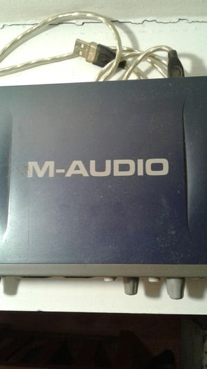 M-Audio Fast track Pro for Sale in Bloomingdale, IL
