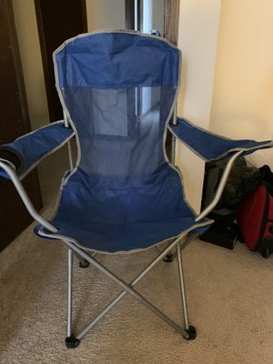 Folding camp chair for Sale in Madison, WI