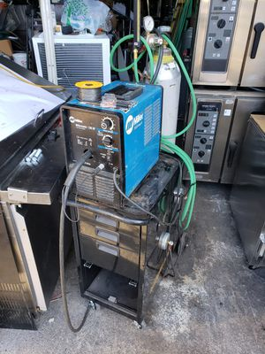 Millermatic 130 MIG welder with tank, regulator and cart for Sale in Seattle, WA