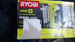 Nail gun ryobi for Sale in Lynnwood, WA