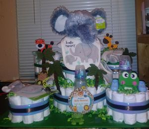 Diaper cake for Sale in Irving, TX