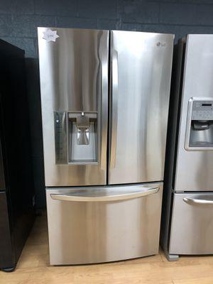 LG stainless steel French door refrigerator for Sale in Woodbridge, VA