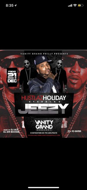 Jeezy Live Christmas holiday for Sale in Philadelphia, PA