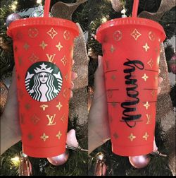 Custom Starbucks Glitter Tumbler Cup for Sale in City of Industry,  CA