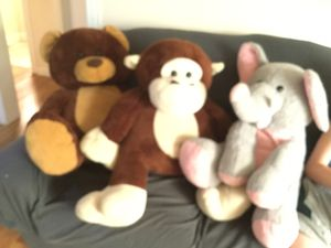 Large stuffed animals for Sale in Oregon City, OR