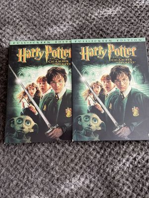 Harry Potter & Chamber of Secrets DVD for Sale in Milpitas, CA
