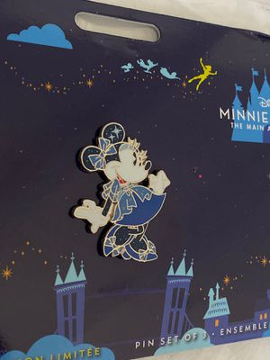 Disney Minnie Mouse The Main Attraction Peter Pan's Flight *SINGLE PIN* for Sale in Temple City, CA