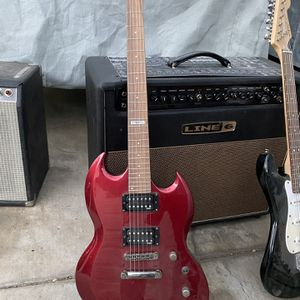 Red ESP LTD Guitar for Sale in Los Angeles, CA