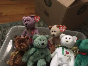 Beanie Babies Teddy Bears for Sale in Rocky River, OH